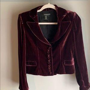 The J. Peterman Company Vintage Velvet Jacket Sz 8